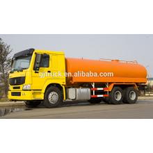 6X4 RHD drive HOWO camión de riego de agua / tanque de agua camión / carro de agua / agua camión de transporte / camión de agua