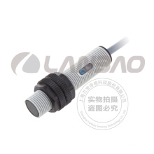 Sensor fotoelétrico de reflexão difusa de plástico (PR12S-BC15D DC3 / 4)