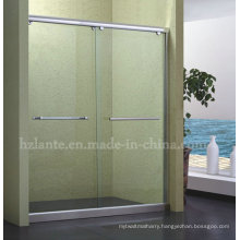 Simple Shower Enclosure with Stainless Steel Shower Frame (LTS-007)