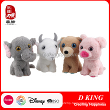 Wholesale Elephant Sheep Bear Pig Stuffed Toy Plush Doll
