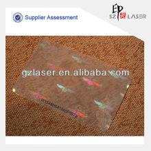 Hologramm Laminierfolie für PVC-Karte