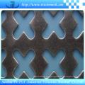 Varias formas de malla de alambre perforado