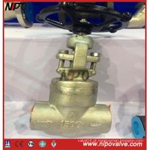Parafuso de aço forjado Válvula de vedação de pressão final