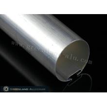 38 mm Aluminium-Kopfschienenprofil mit einer Dicke von 0,5 bis 2,0 mm