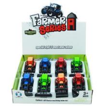 Coche plástico del modelo del coche del granjero de la simulación que tira del coche con En71 (10227709)
