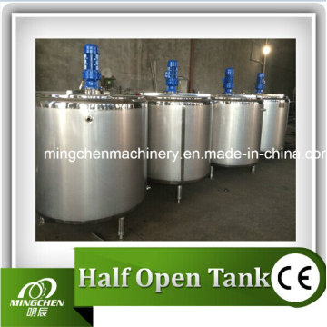 Резервуар для смешивания жидкостей из нержавеющей стали