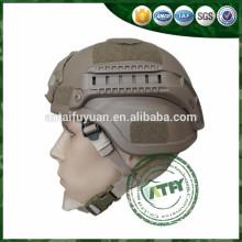 Ballistic Helmet NIJ IIIA for military operation with NVG & RAILS
