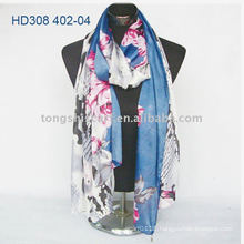 polyester oblong scarf for autumn promotion