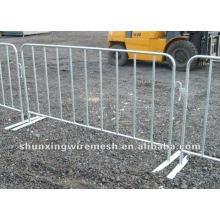 ISO 9001 verzinkter Stahlrohrzaun
