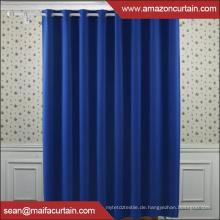 100% Polyester Neuestes Verdunkelungsvorhanggewebe plain blackout Fenstervorhanggewebe