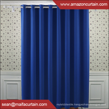 100% polyester Newest blackout curtain fabric plain blackout window curtains fabric