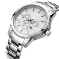 Nouvelle montre de quartz de style de 2016, montre en acier inoxydable de mode Hl-Bg-180