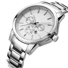 2016 novo estilo relógio de quartzo, moda relógio de aço inoxidável hl-bg-180