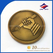 Gift Promotion item Antique Bronze Details Design Medal coins Antique brass coins