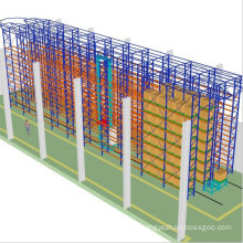 Customized Heavy Duty Rack Factory Direct Rack Storage Shelves Warehouse Robot Asrs Racking