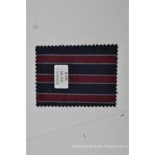 Dandy red blue stripe mongolian cashmere blend wool fabric