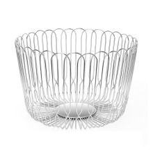 Stainless Steel decorative Fruits Bowl basket