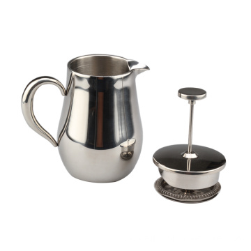 100% aço inoxidável francês Press Coffee & Tea Maker