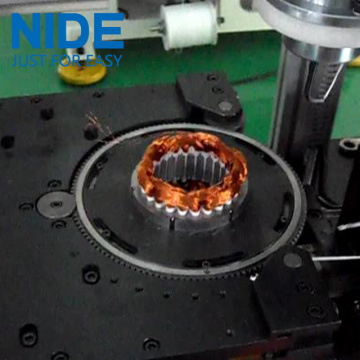 Double needle Stator coil lacing machinery
