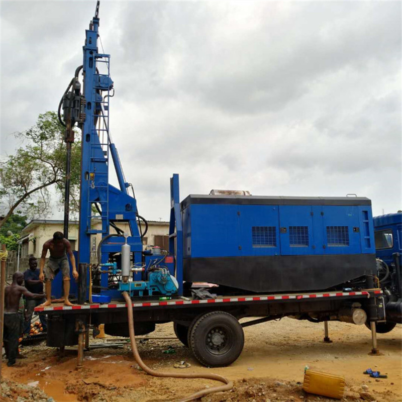 truck water well rig (2)