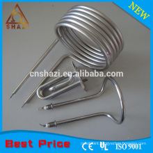 Ring coil heating elements