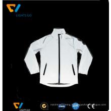 argent blanc salut vis vêtements réfléchissants vêtements de sécurité usure du vêtement