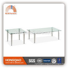 CT-05 ET-05 stainless steel glass modern coffee table
