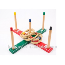 Peg Quoits Target Game Ring Toss Wood Quoits Game
