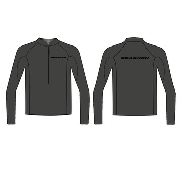 Seaskin Front Zip Herren Neoprenanzug Top für SUP