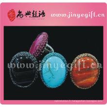 Anneau de fiançailles noué artisanal de bijoux culturels de ShangDian