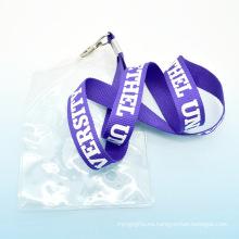 2015 promoción personalizado de moda cordón de la tarjeta de identificación titular de la tarjeta