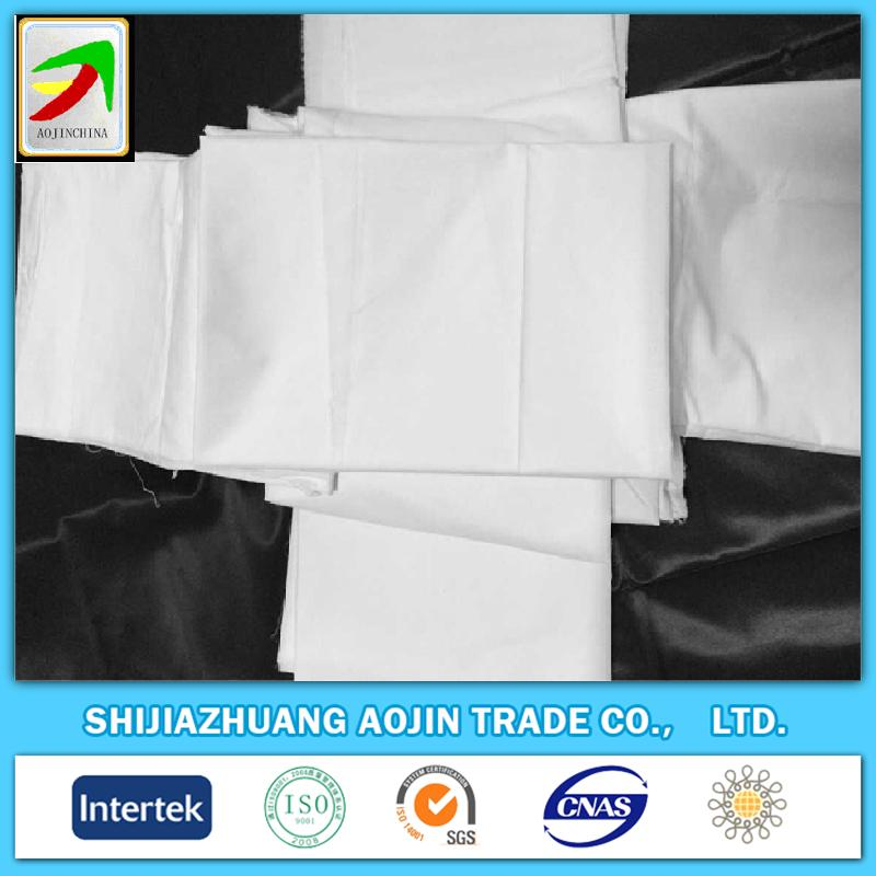 100% cotton twill bleached white worker's cloth