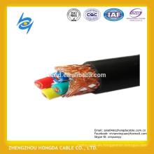 Cables del aeropuerto 400Hz 7 núcleos con trenza de alambre de cobre Escudo 400Hz Cables del aeropuerto 7 núcleos con escudo de alambre de cobre concéntrico