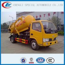 Bomba de vacío 4000L Sewel Jetting Truck