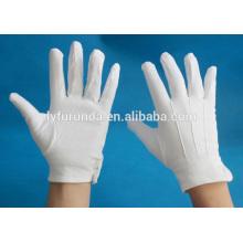 FURUNDA luva branca de algodão militar inspeção luvas conduzidas