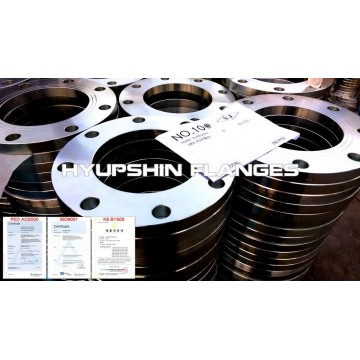 JIS 5K Slip On Plate Raise Face Flange