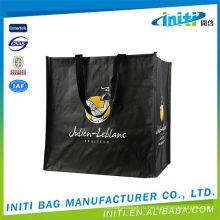 Рекламный портативный экологически чистый сплетенный мешок силоса pp