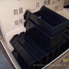 Cubos montados en la pared de la caja de almacenamiento de plástico de alta calidad para el almacén industrial
