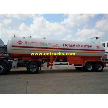 38cbm 15ton LPG Transport Semi Remorques