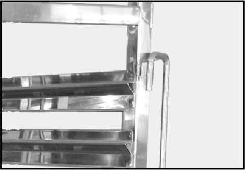 Steel Bakery Trolley