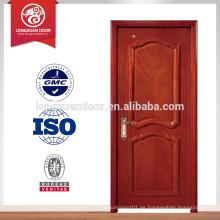 Puertas clasificadas de la resistencia de fuego de encargo de la fábrica, sola puerta de fuego interna de la madera del oscilación