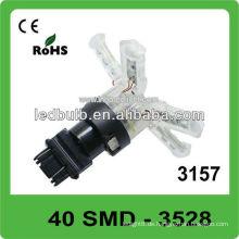 40 Stück 3528 SMD 3157 Basis DC12V LED Licht für Auto