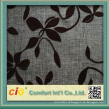 O design floral o mais atrasado reuniu a tela de veludo para o sofá