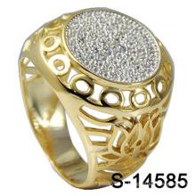 Usine en gros homme bague bijoux en argent 925