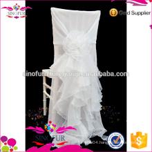 Qingdao SinoFur Best Sale Flower Chair Cover