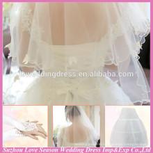 WG0004 wedding bridal use three piece petticoat veil gloves