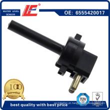 Sensor de nível de água do caminhão automático Indicador de nível de refrigerante Sensor do transdutor 6555420017 4.62063 para Dt Vdo Truck