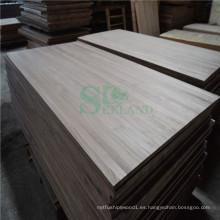 Uso de madera de nogal en Panel sólido