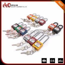 Elecpopular Kundenspezifische Sicherheits-Sicherheitsverriegelung Vorhängeschloss mit Gefahrzettel
