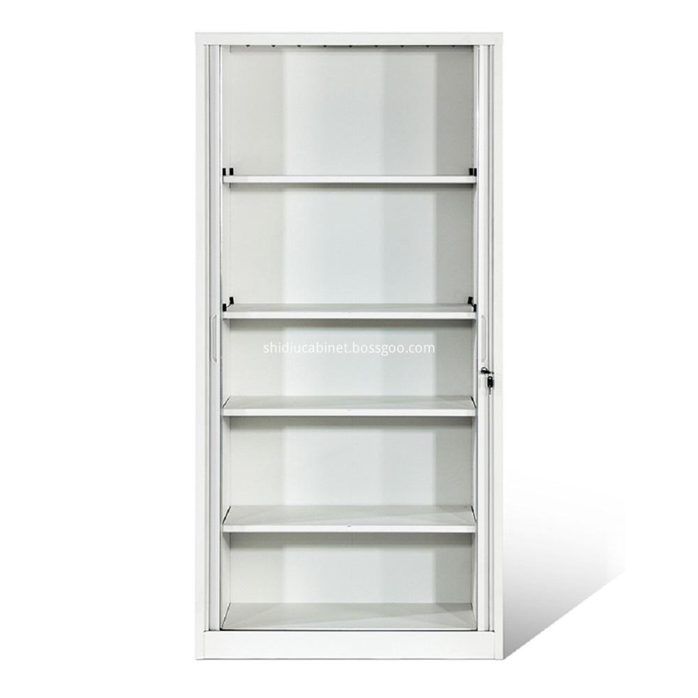 tambour door storage cabinet-2